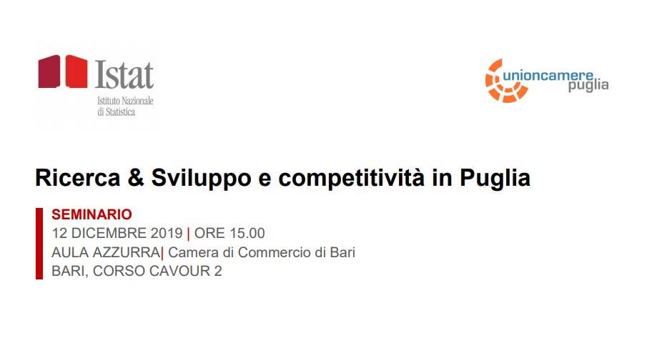"""""""Ricerca & Sviluppo e competitività in Puglia"""", un ..."""