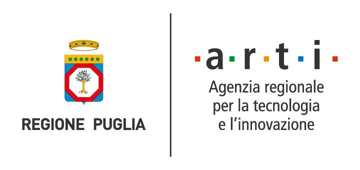 Logo della Regione Puglia e dell'ARTI