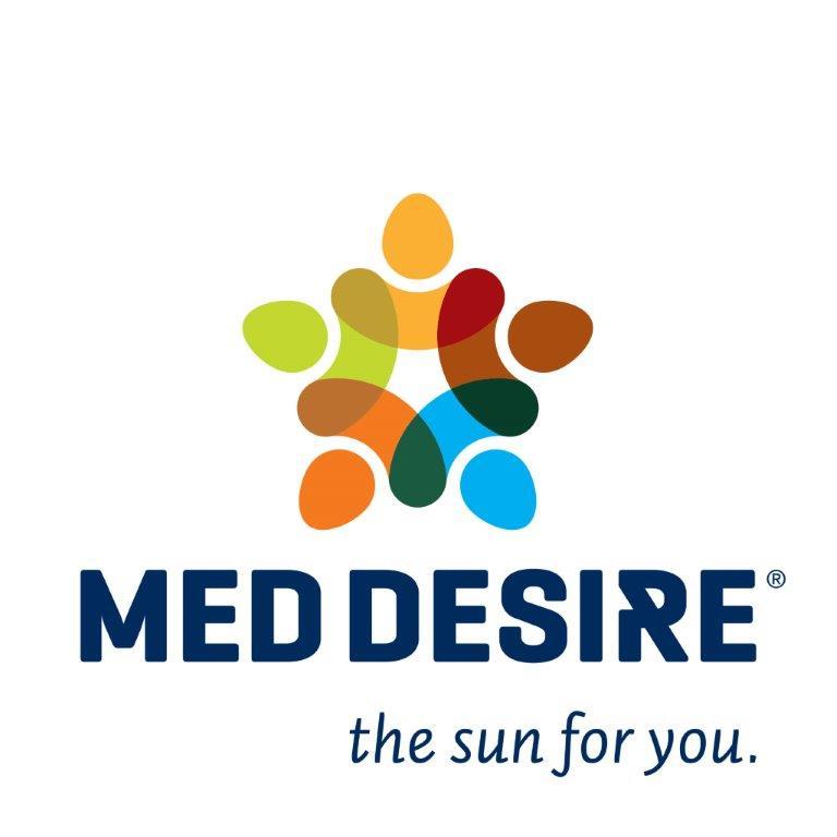 Logo del progetto internazionale MED-Desire