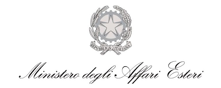 Logo del Ministero degli Affari Esteri
